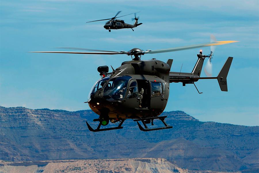 Airbus entregará 35 helicópteros ao Exército dos Estados Unidos