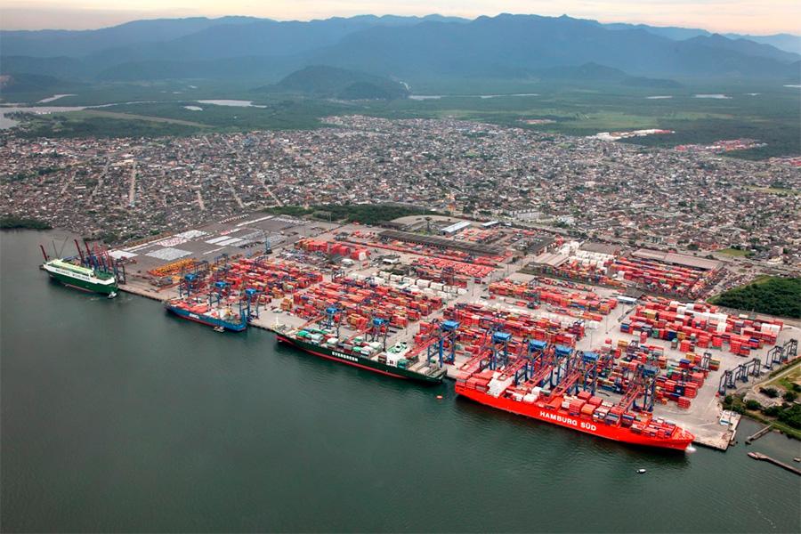 Porto de Santos (SP) poderá movimentar 178 milhões de toneladas até 2029