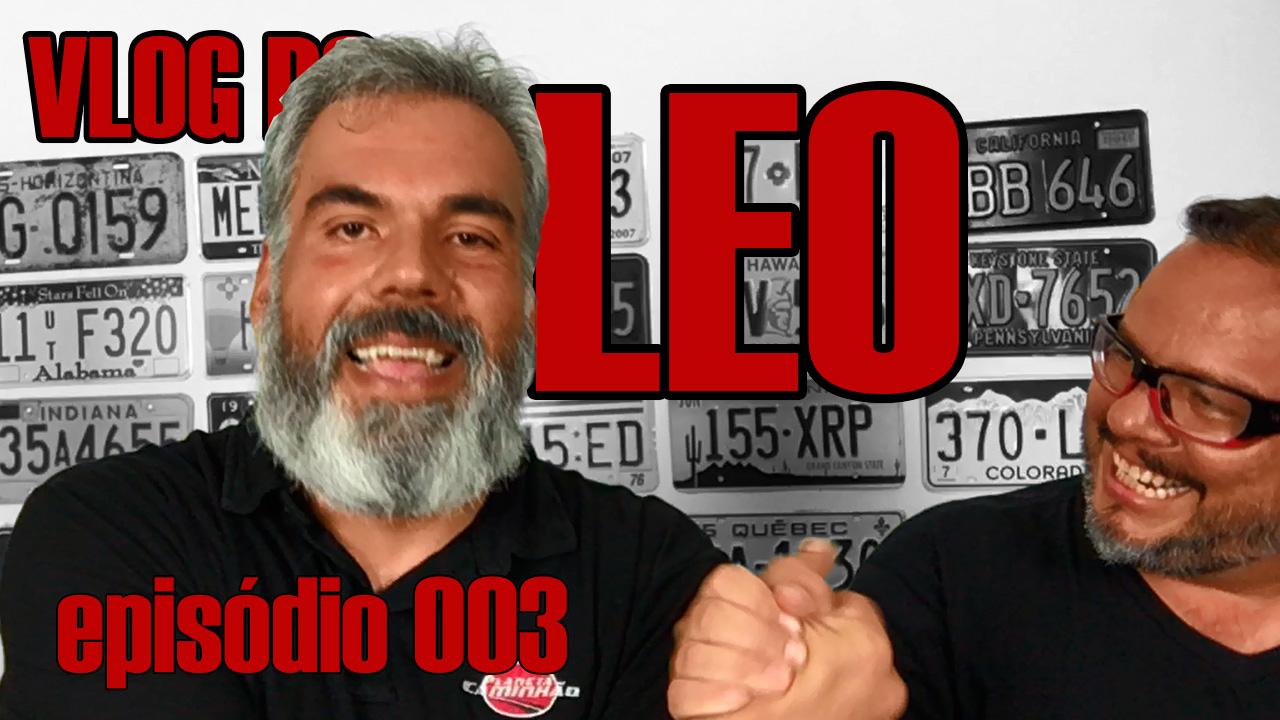 Episódio #03 do vlog do Leo, hoje com Sérgio, do Planeta Caminhão