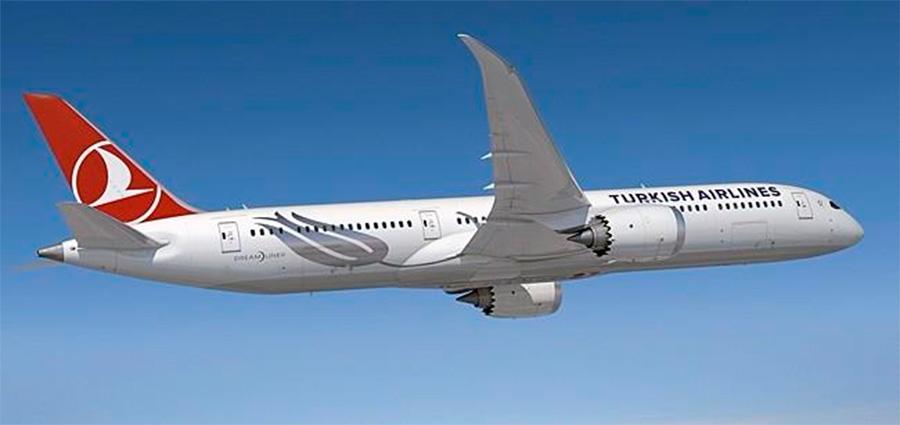 Turkish Airlines encomenda 50 aeronaves de longo curso