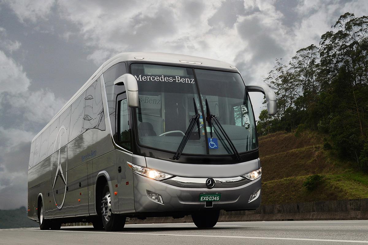 Mercedes-Benz lança pacote de eficiência para ônibus rodoviários