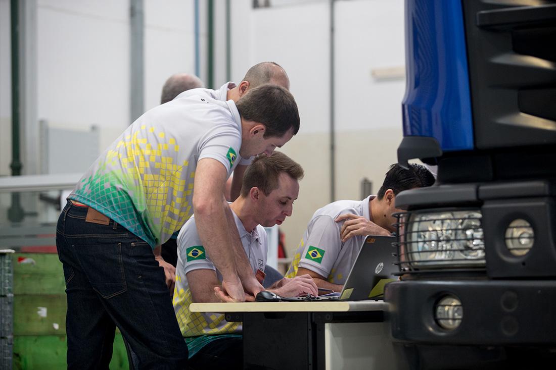 Brasil está na final da copa do mundo de equipes de serviços Scania