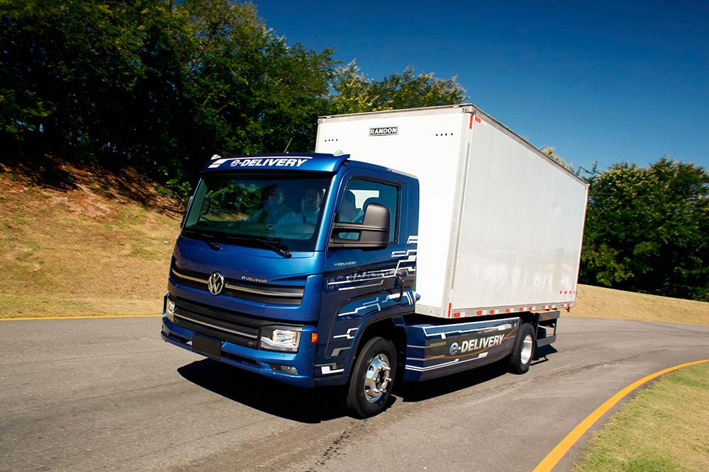 Ambev planeja comprar 1600 caminhões elétricos VW