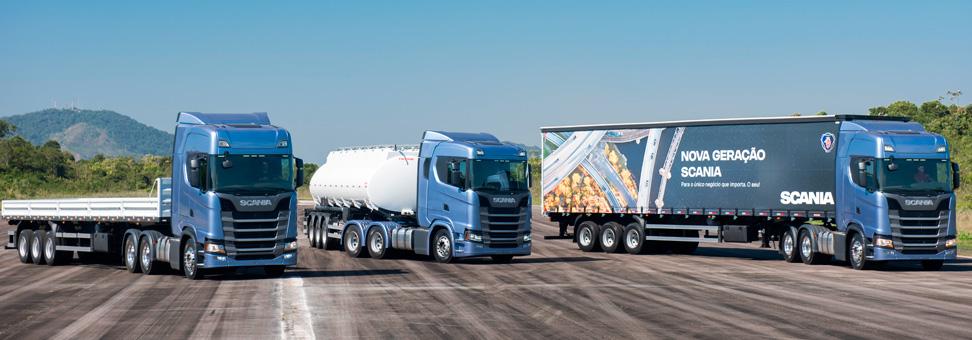 Scania: a nova geração de caminhões está nas ruas