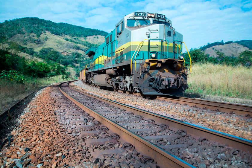 Mais de 30% da linha férrea do Brasil não está sendo utilizada