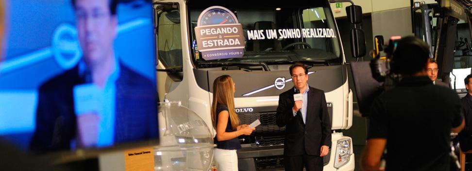 Consórcio Volvo comemora Jubileu de Prata