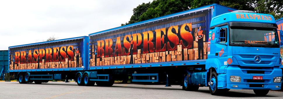 Braspress investe em nova frota e nova unidade na Bahia