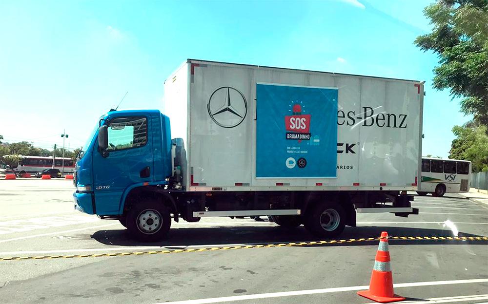 Mercedes cria canal para ajudar Brumadinho