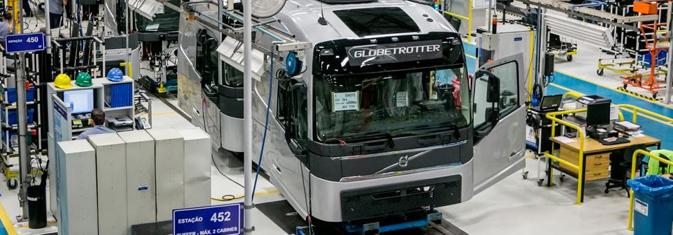 Retomada do setor: vendas de caminhões avançam 46,7% em 2018