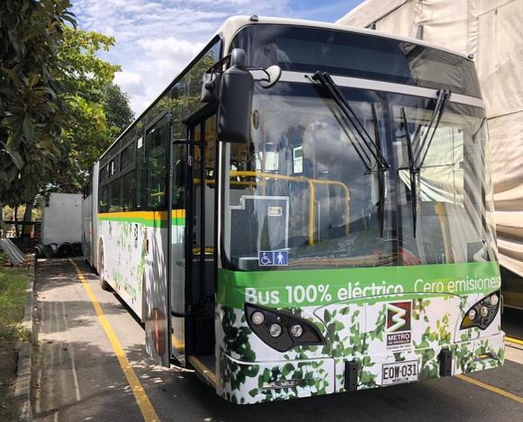 Colômbia terá frota elétrica da BYD