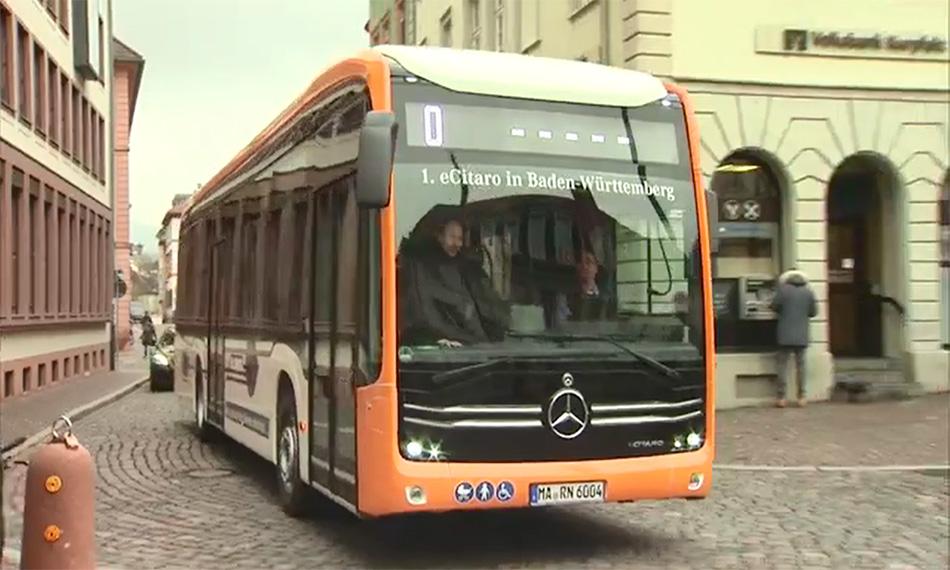 Elétrico e-Citaro chega à Alemanha