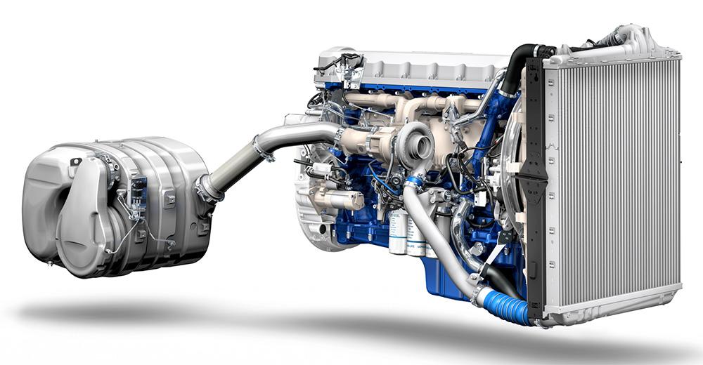 Motor Volvo mais econômico
