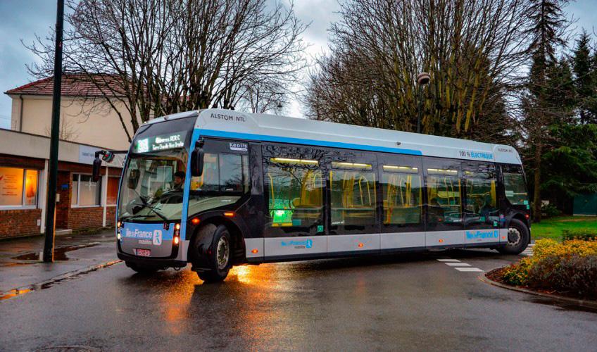 Alstom começa a testar ônibus elétricos