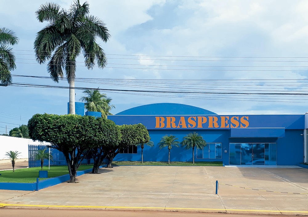 Braspress amplia operações no Mato Grosso