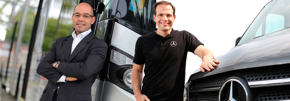 Mercedes-Benz domina mercado de passageiros