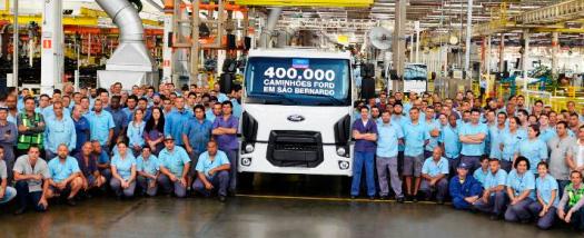 Ford Caminhões abandona o Brasil