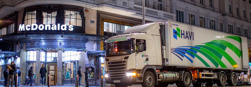 Híbrido Scania é solução noturna