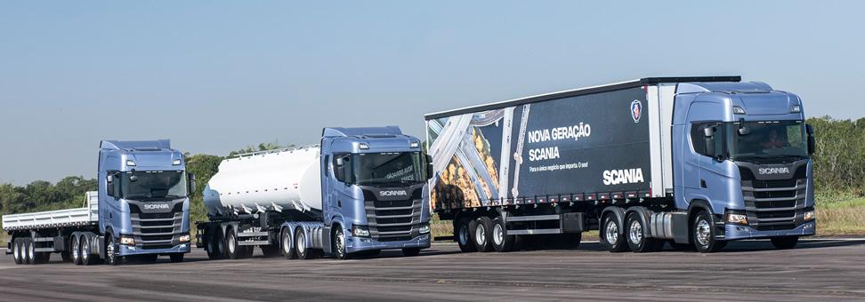 Scania projeta alta em seus mercados no Brasil