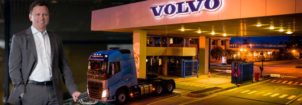 Volvo tem fome de Brasil e quer mais mercado
