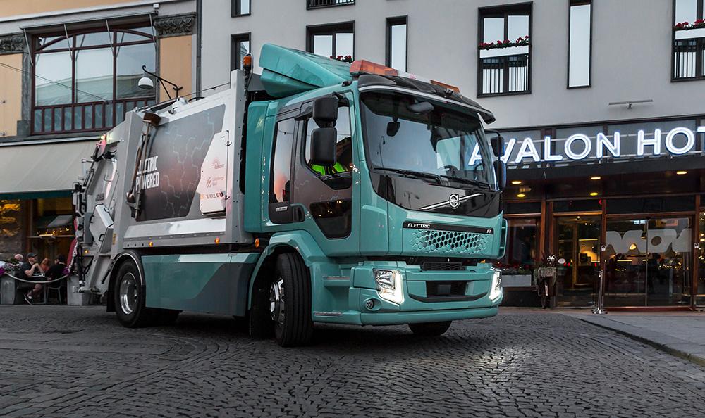 Volvo inicia vendas de elétricos lá fora