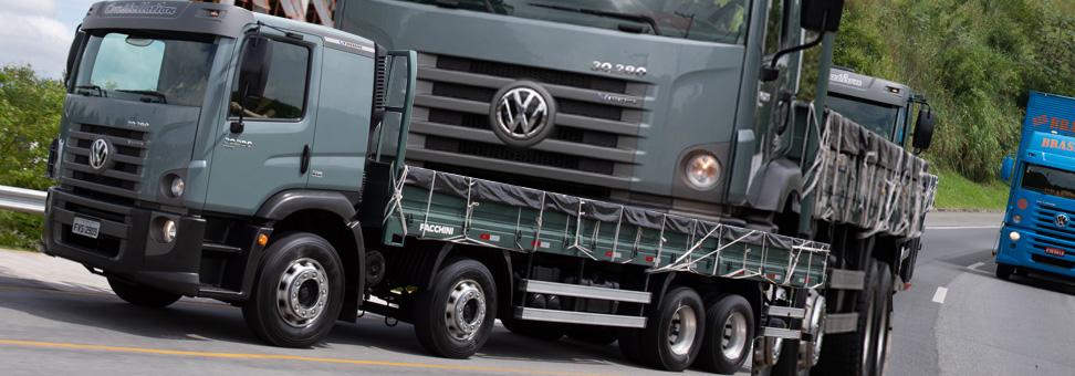 Tem caminhão VW sem Arla nos bitrucks