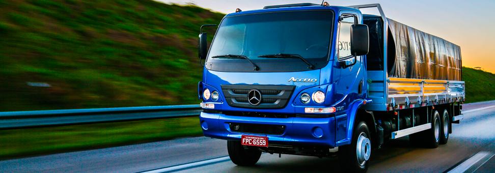 Mercedes-Benz Accelo já está à venda com câmbio automatizado