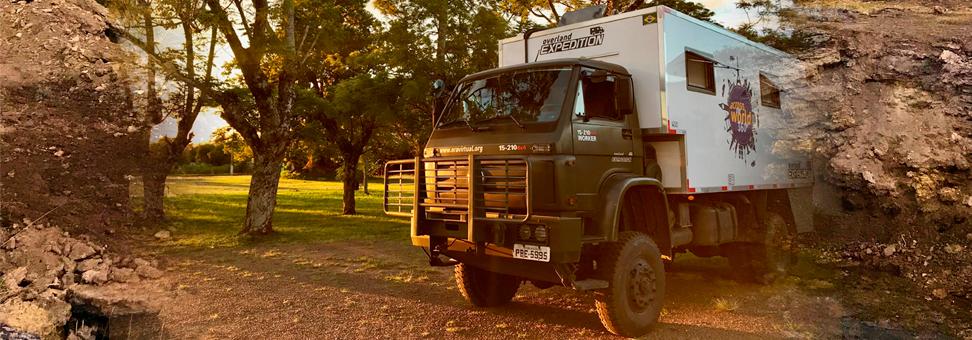 Um caminhão que inspira rodar pelo mundo