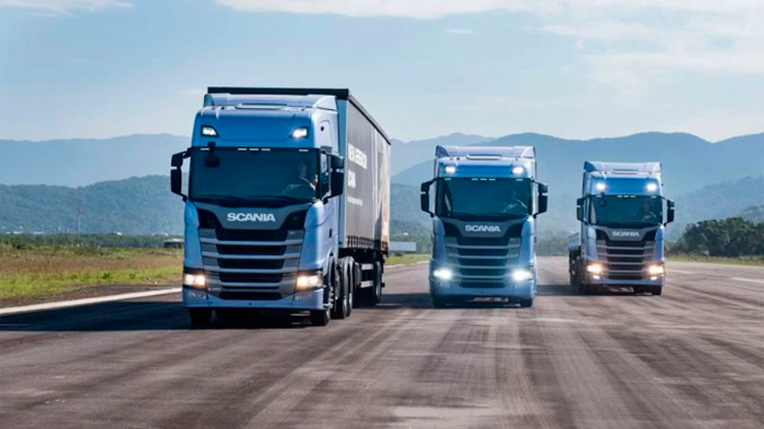 Scania: quase três bilhões de quilômetros conectados por mês