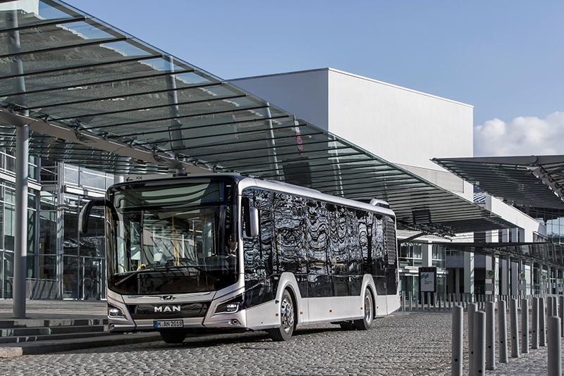 Ônibus MAN Lion's City recebe premio de design
