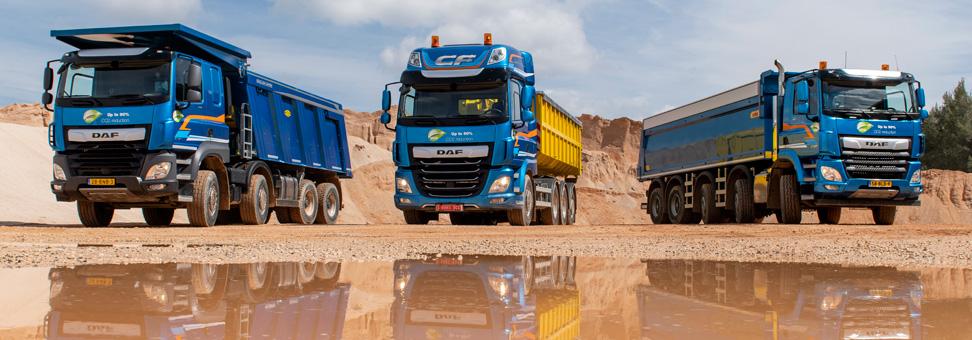 DAF capricha na gama de caminhões para construção na Europa