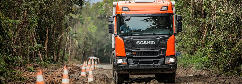 Scania G 500 8×4 é o novo chefe da mina