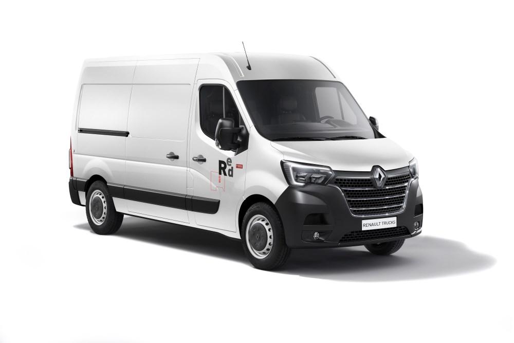 Renault Trucks mostra sua nova gama Master na Europa