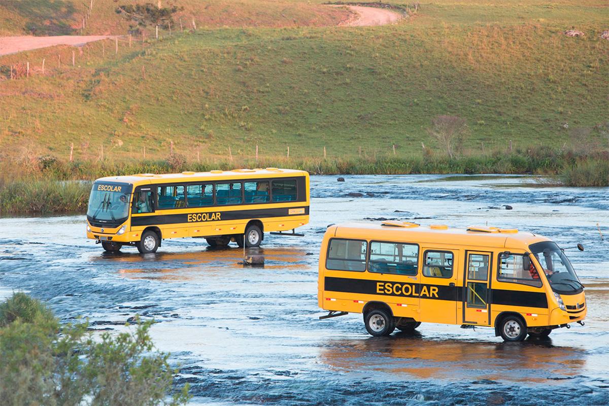 VWCO vende 3.400 ônibus para o governo federal