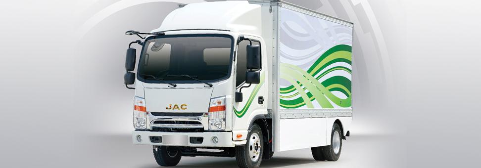 Caminhão elétrico da JAC começa a ser vendido