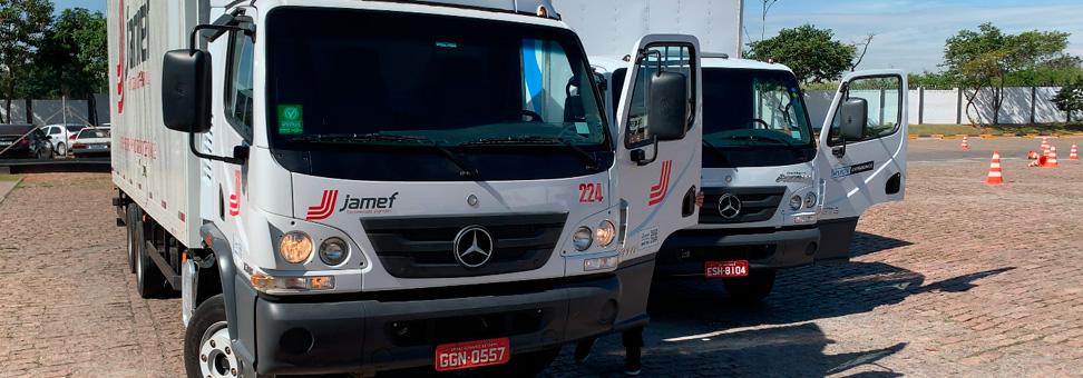 Câmbio inteligente do Accelo mostra 6,5% de economia na Jamef