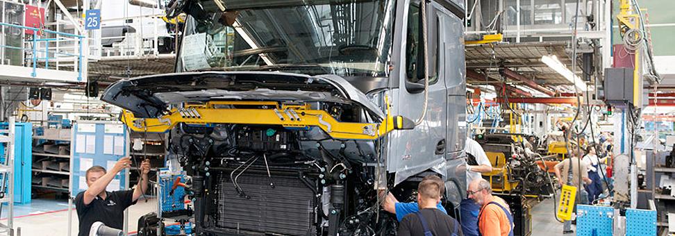 Venda de caminhão tem alta de 11,8% em abril