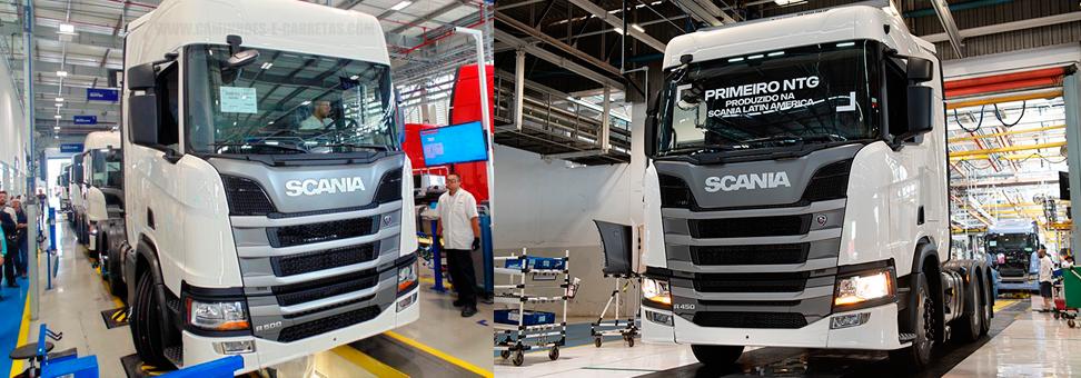 Scania terá novos postos de trabalho