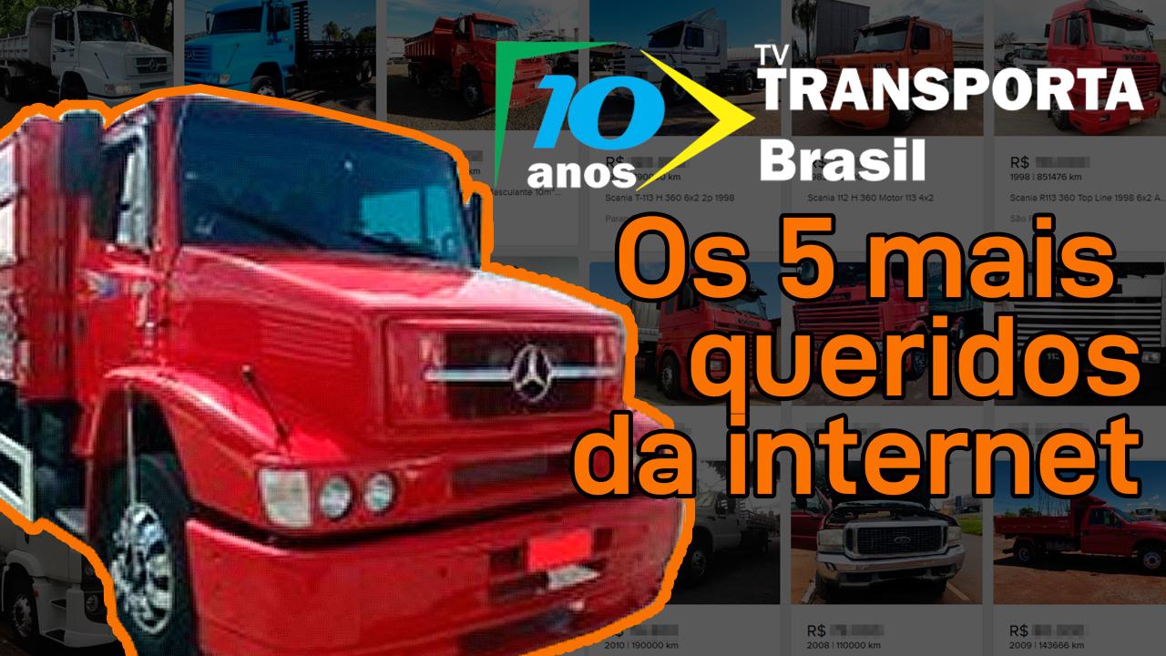 Os caminhões mais buscados no Mercado Livre