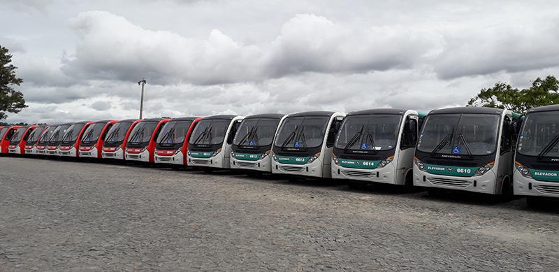 Marcas avançam nas vendas de ônibus