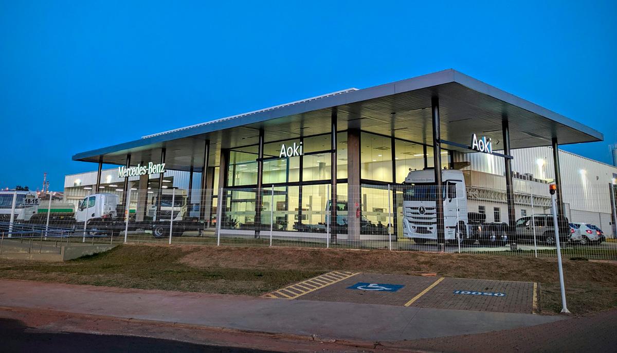 Mercedes-Benz está de casa nova em Bauru (SP)