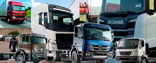 Brasil  já emplacou 46.867 caminhões em 2019