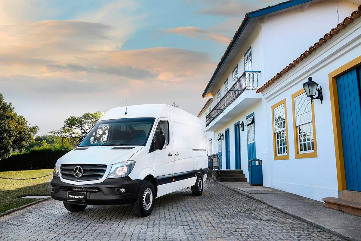 Mercedes-Benz Sprinter ataca setor de franquias