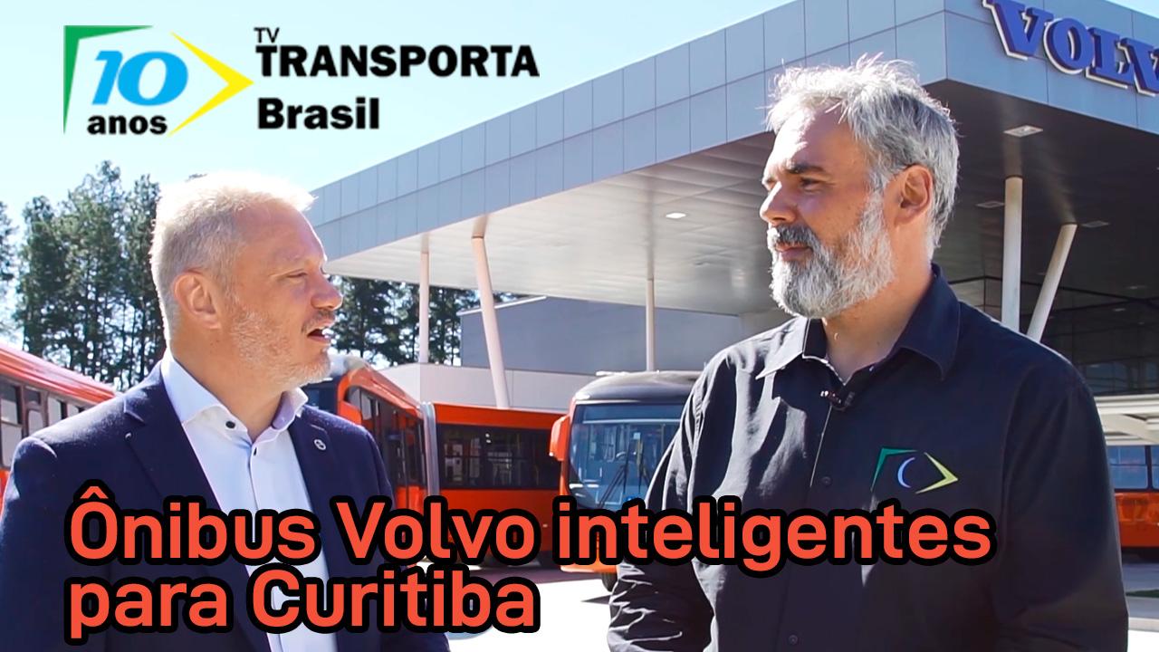 TV Transporta Brasil: novos ônibus Volvo para Curitiba (PR)