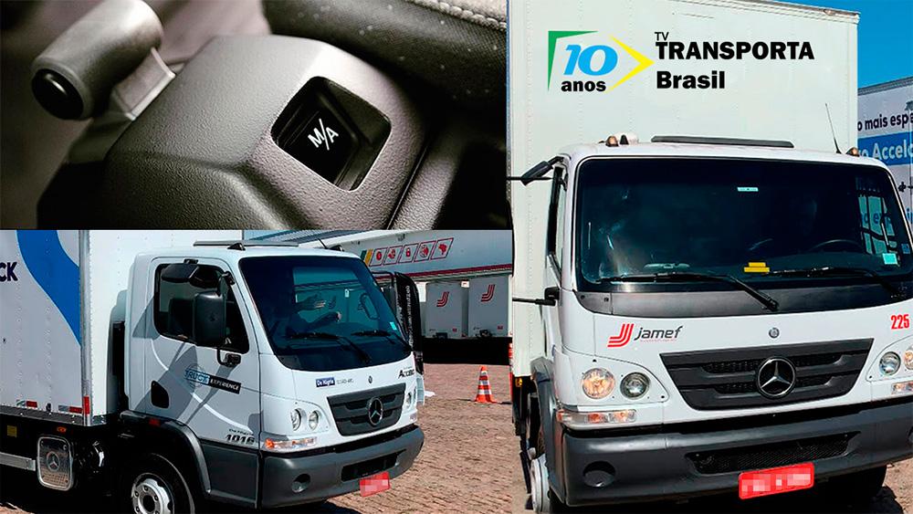 """TV Transporta Brasil: um """"Mercedinho"""" automatizado"""