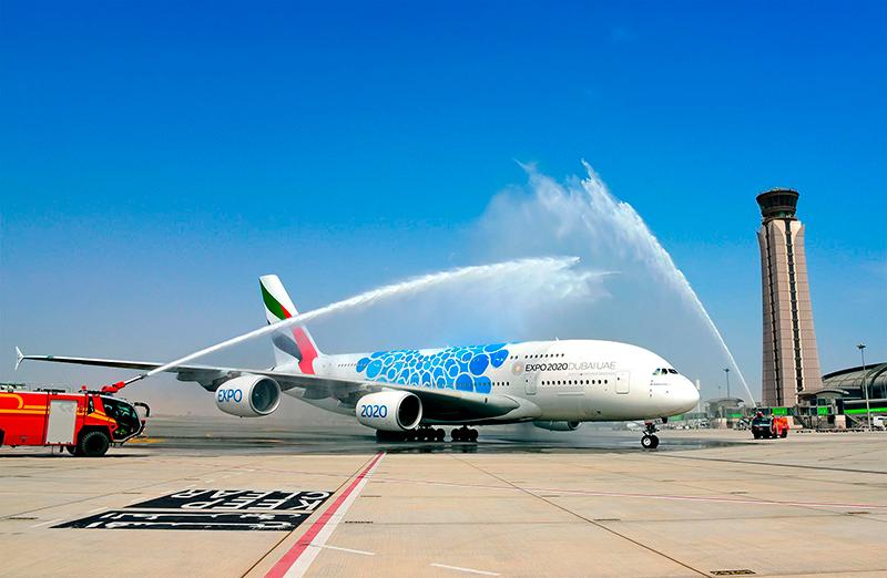 Emirates vai usar o maior avião do mundo para uma rota de apenas 340 km