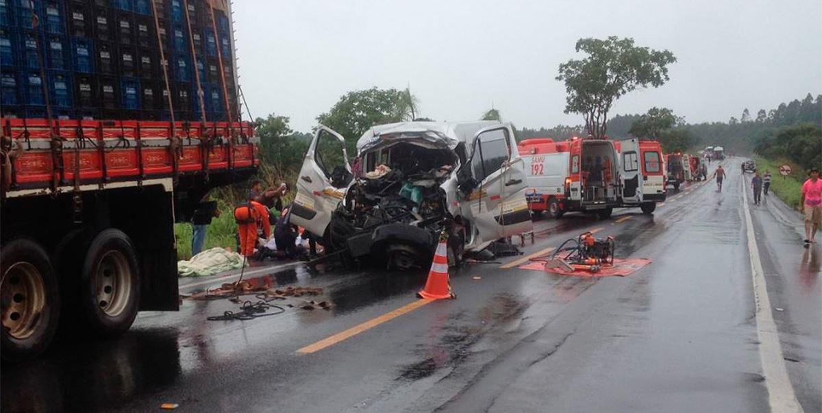 MG é o Estado com mais acidentes envolvendo caminhões