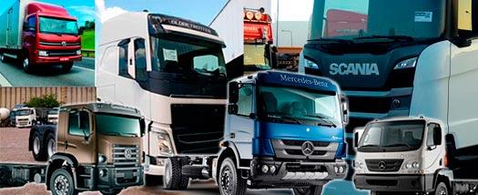 Vendas de caminhões e ônibus crescem em agosto