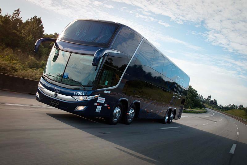 Mercedes-Benz fecha semestre com mais da metade do mercado de ônibus