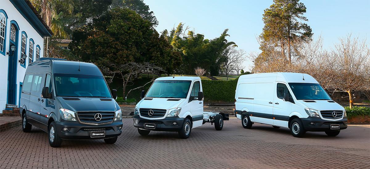 Mercedes-Benz comemora mercado aquecido para a linha Sprinter