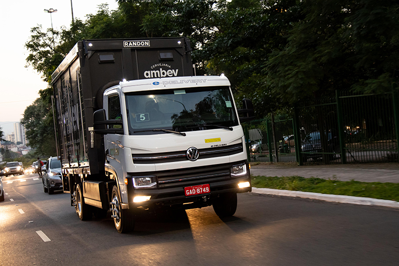Delivery elétrico já poupou mais de 3 mil litros de diesel
